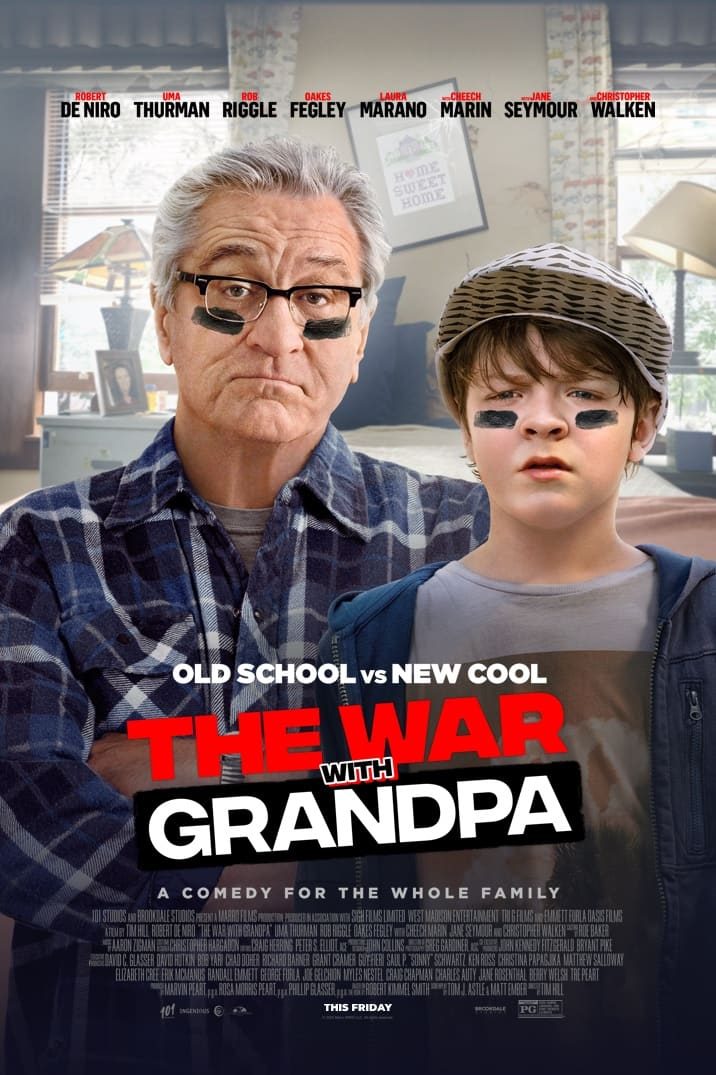 Enter To Win The War With Grandpa--The Perfect Movie For Your Next Family Movie Night {Giveaway + Cake Pop Recipe}