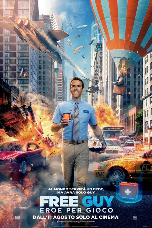 Poster di Free Guy - Eroe per Gioco