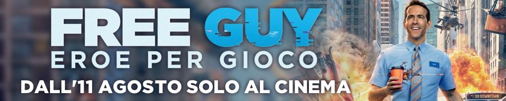 Free Guy - Eroe per Gioco immagine banner