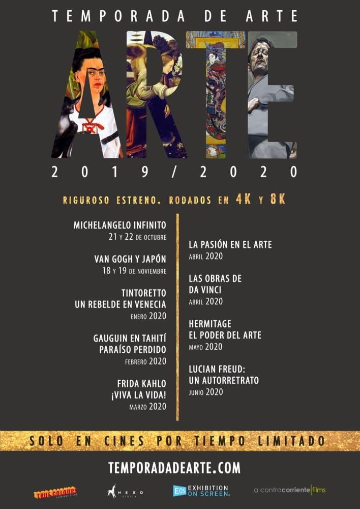 Image 1 of the Los Grandes Del Arte En El Cine 2019 gallery