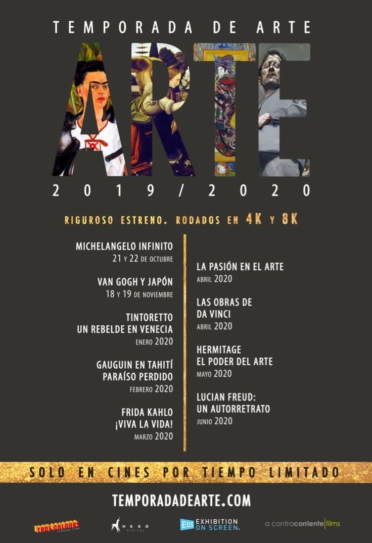 Poster de Los Grandes Del Arte En El Cine 2019