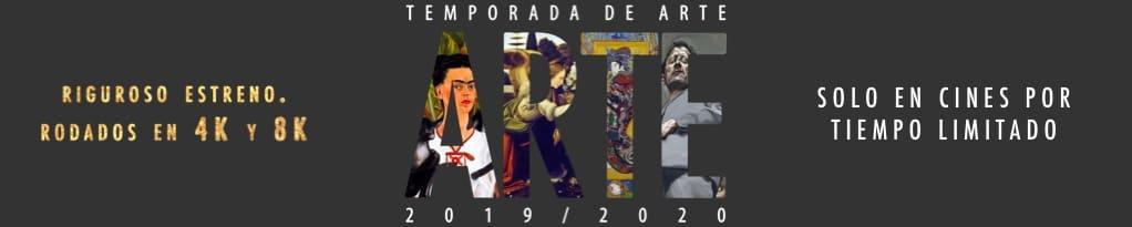 Banner de Los Grandes Del Arte En El Cine 2019