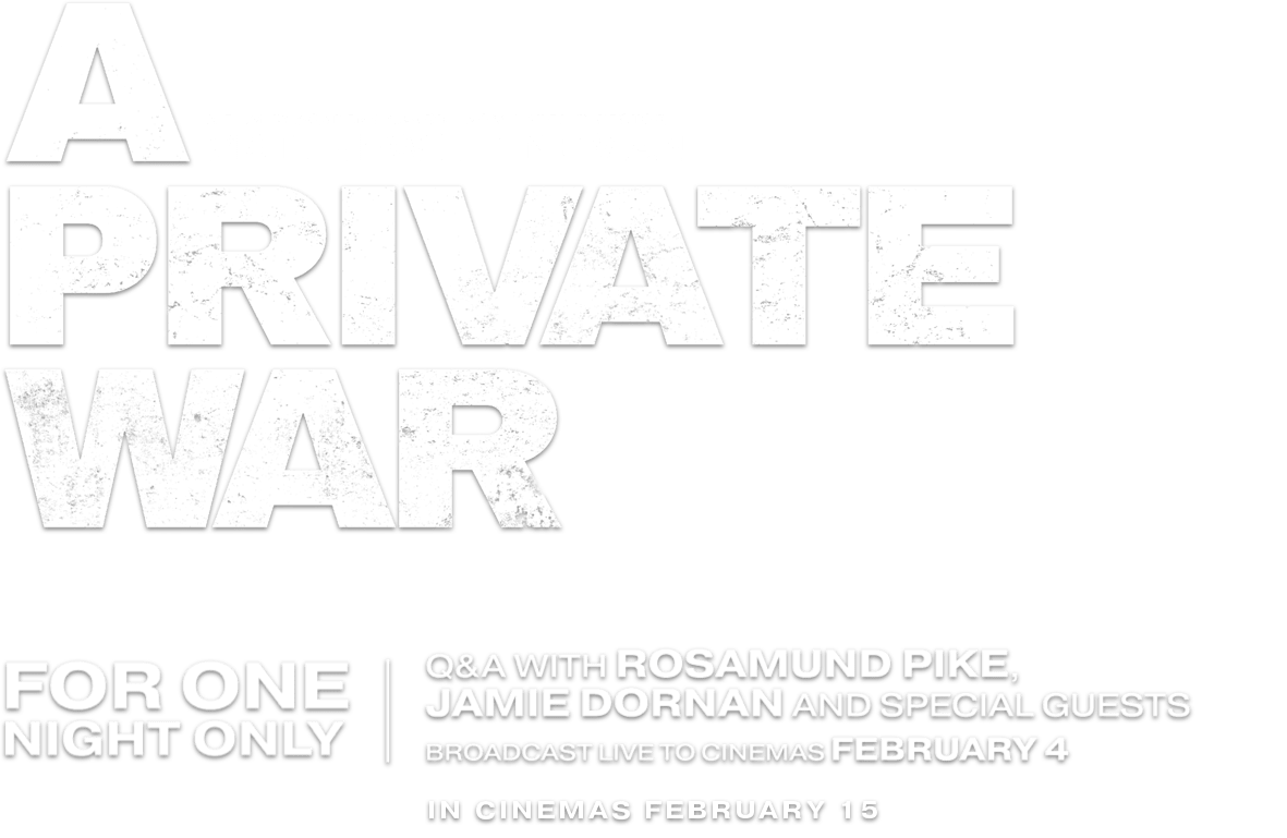 A Private War : %$SYNOPSIS% | Altitude Film