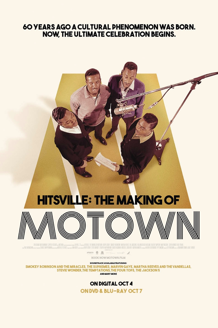 Poster for Hitsville: The Making of Motown