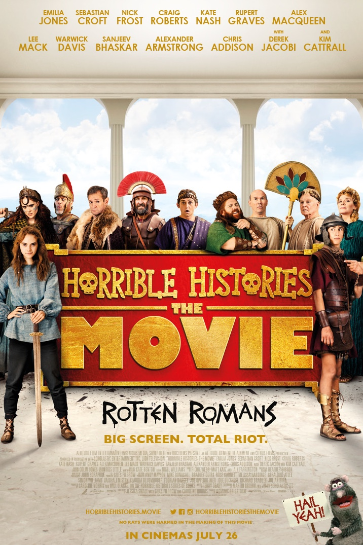 Poster for Horrible Histories: The Movie - Rotten Romans