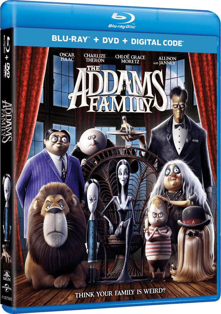 Buy The Addams Family on Blu-ray.