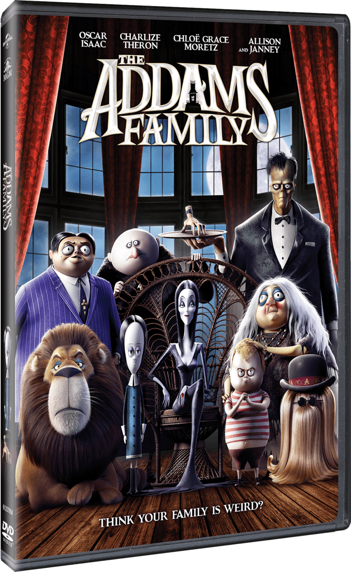 Buy The Addams Family on DVD.