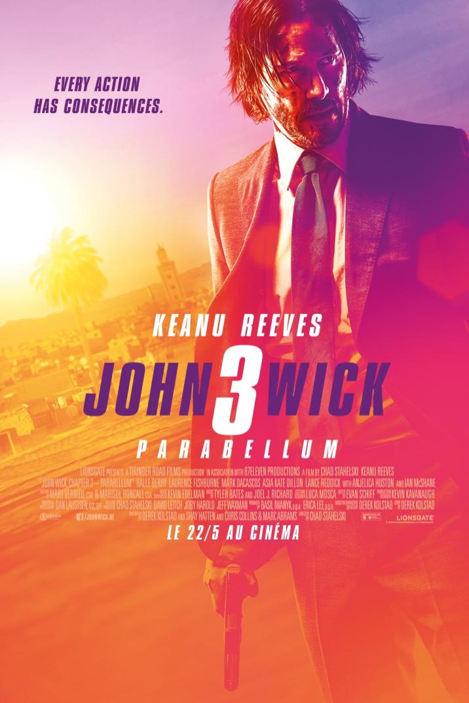 Poster for John Wick 3 - Parabellum