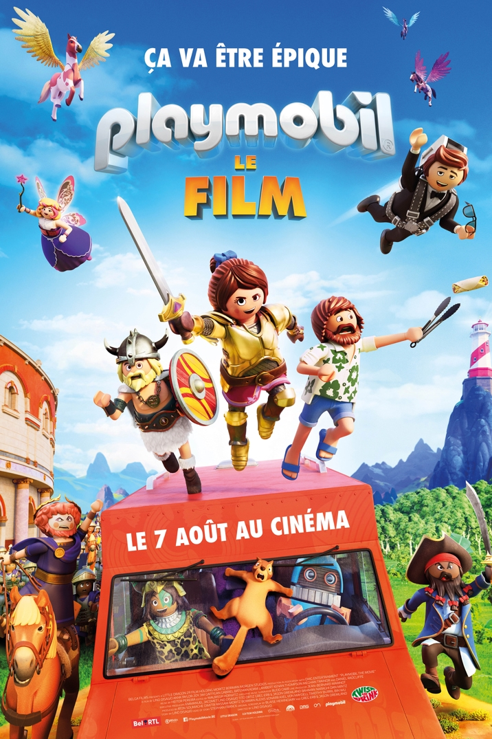 Poster for Playmobil le Film