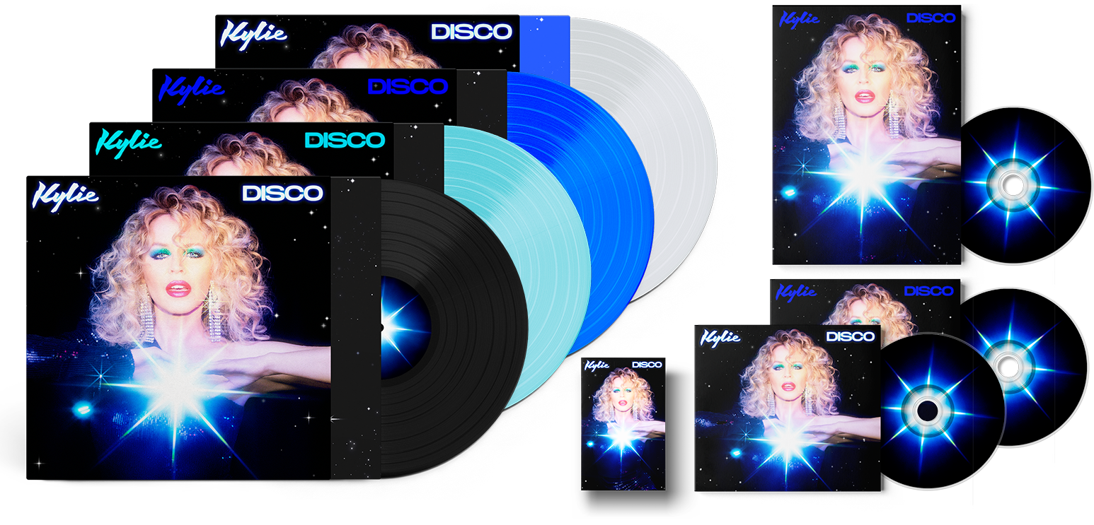 Kylie Minogue DISCO Album Products