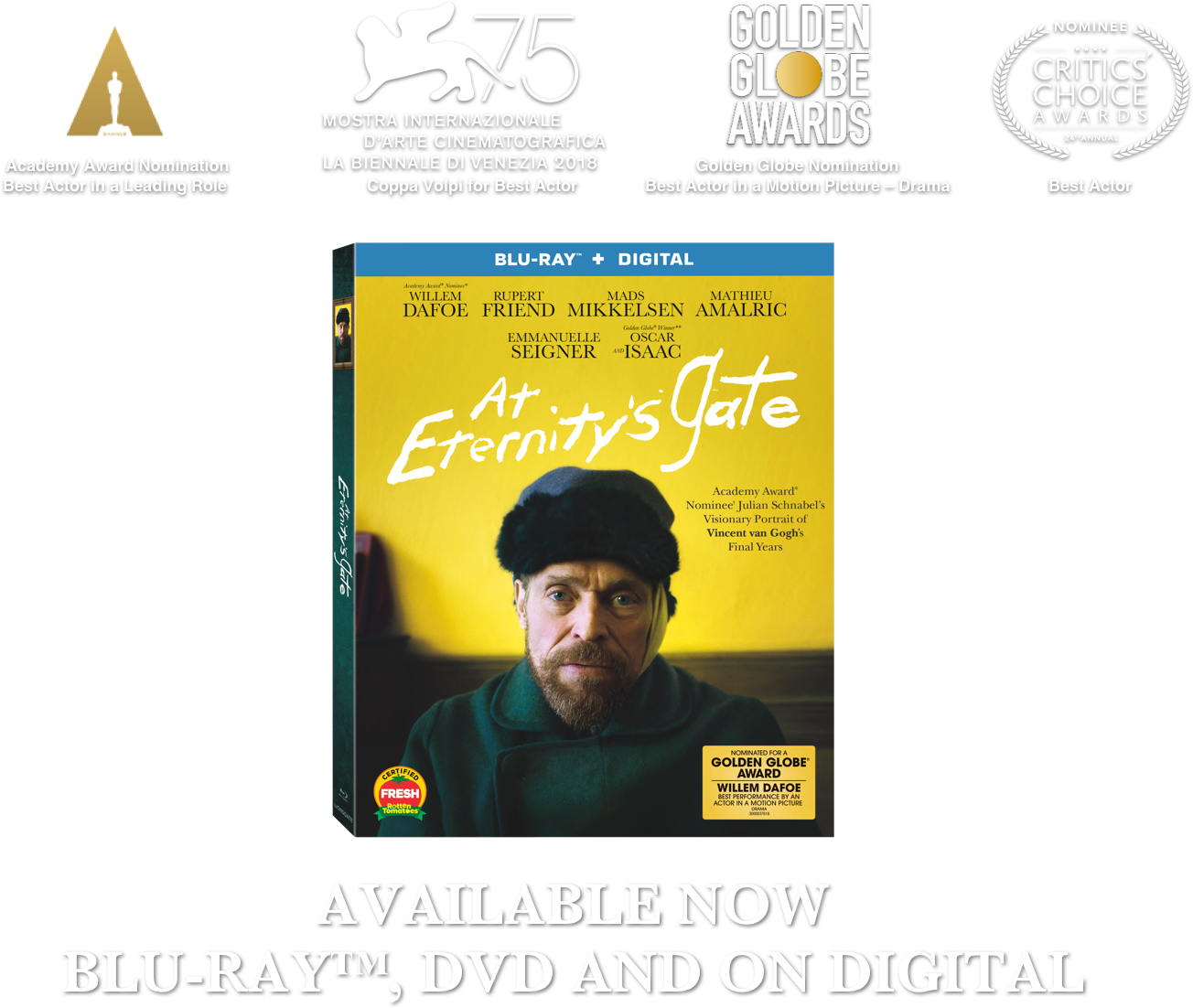 At Eternity's Gate: Synopsis | CBS FILMS INC