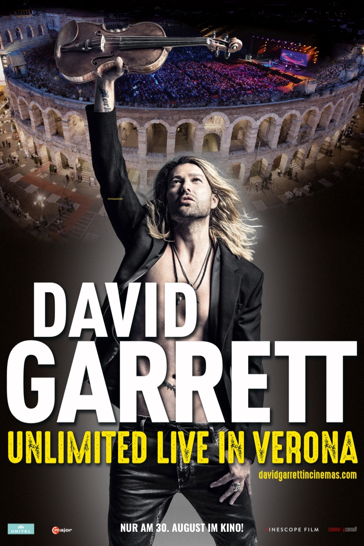 Poster image for David Garrett: Unlimited - Live in Verona