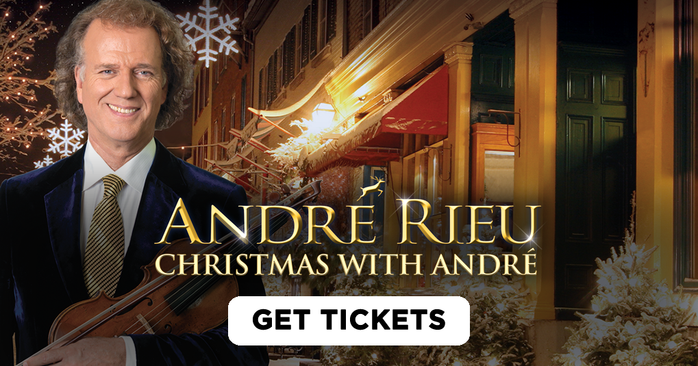 André Rieu: Christmas with André: Cinema Screenings & Ticket ...
