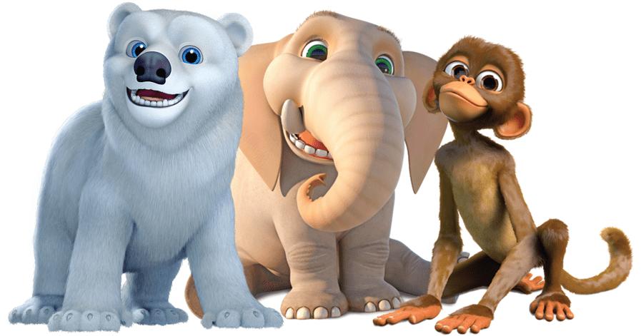 Jungle Beat Characters