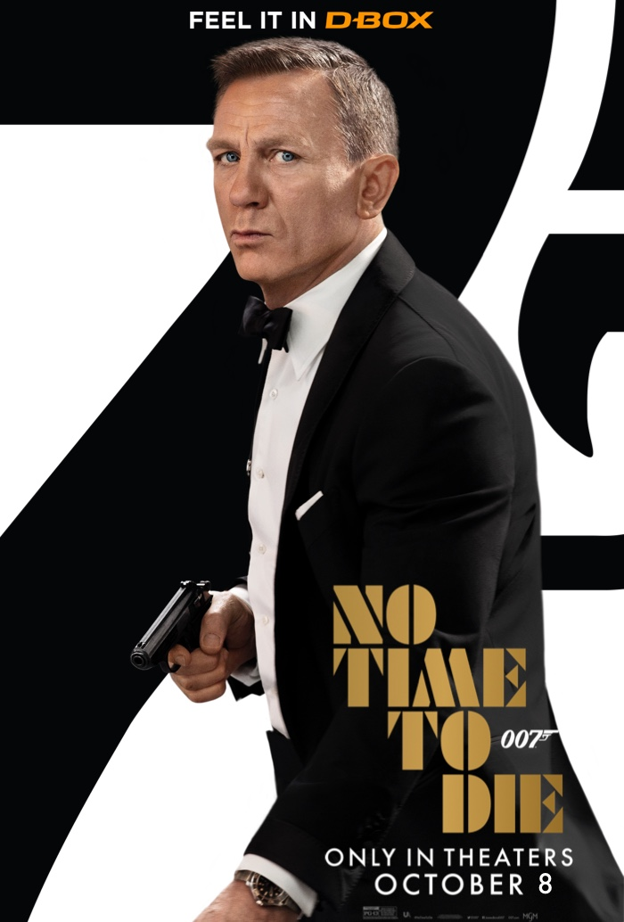 Poster image for James Bond : No Time to Die