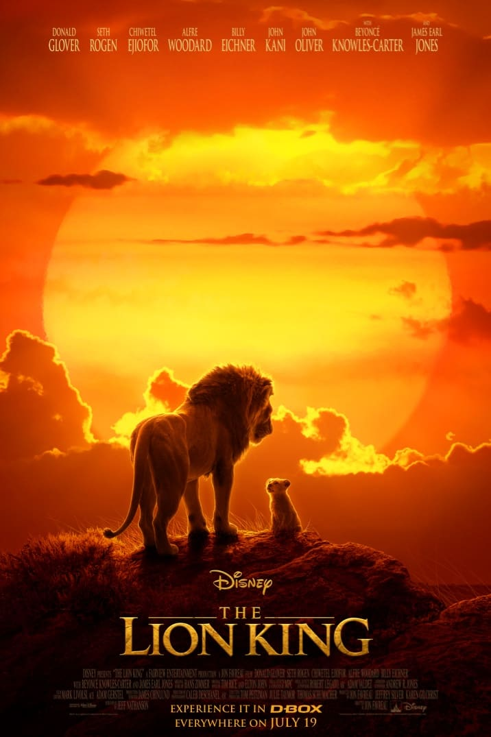 Poster for The Lion King