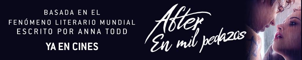 Banner de After. En mil pedazos