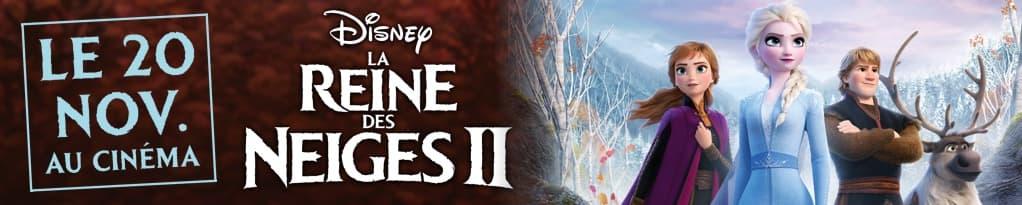 La Reine des Neiges 2 banner image