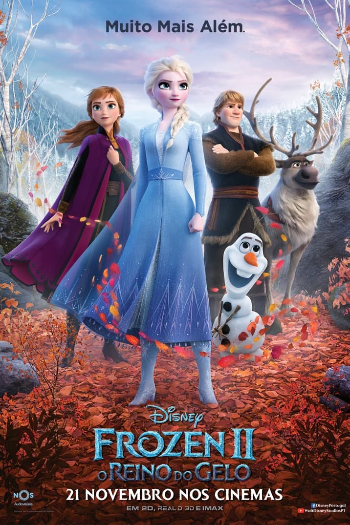Poster de Frozen 2 - O Reino do Gelo