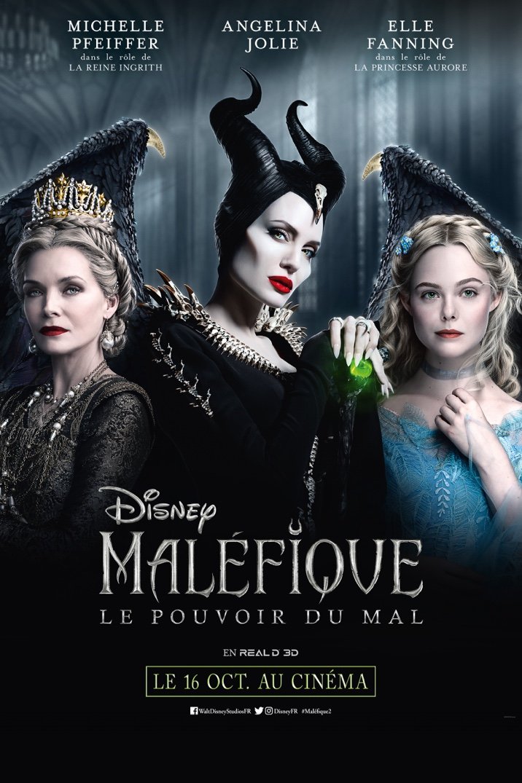 Affiche du film Maléfique : Le Pouvoir du Mal