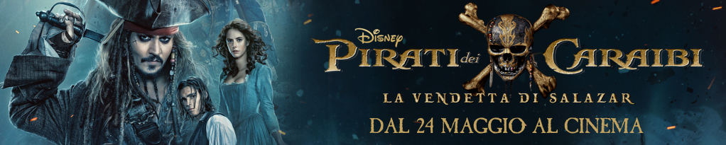 Prenota il biglietto per i pirati dei caraibi!