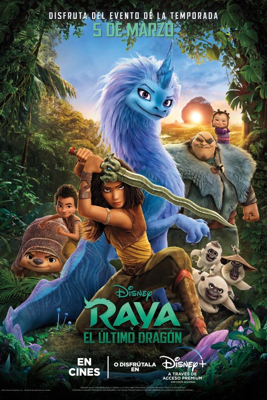 Poster de Raya and the Last Dragon