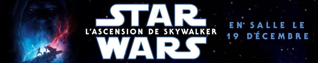 STAR WARS : L'ASCENSION DE SKYWALKER banner image