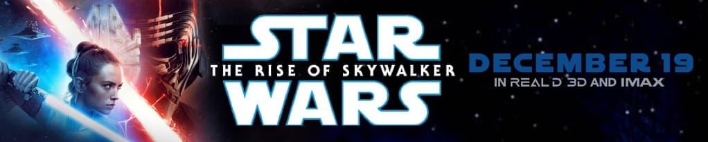 Star Wars: The Rise of Skywalker banner image