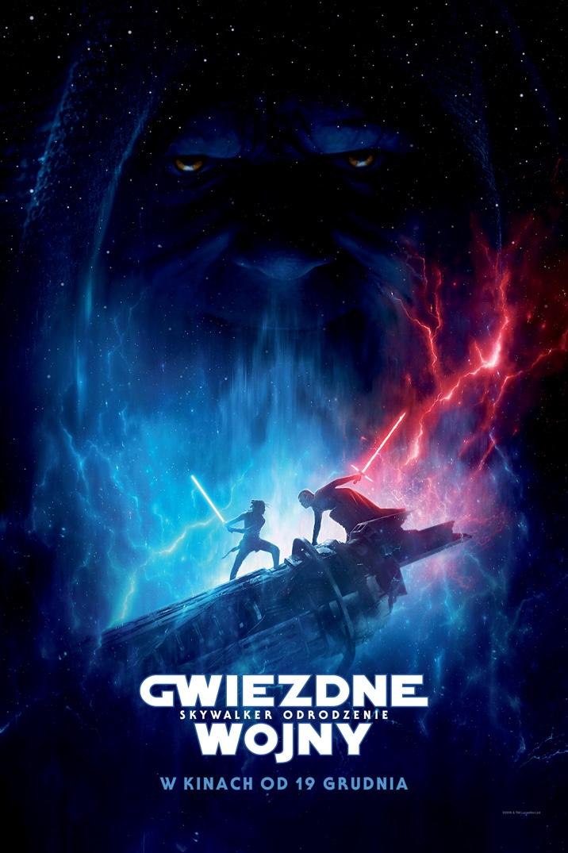 Plakat z filmu Gwiezdne wojny: Skywalker. Odrodzenie