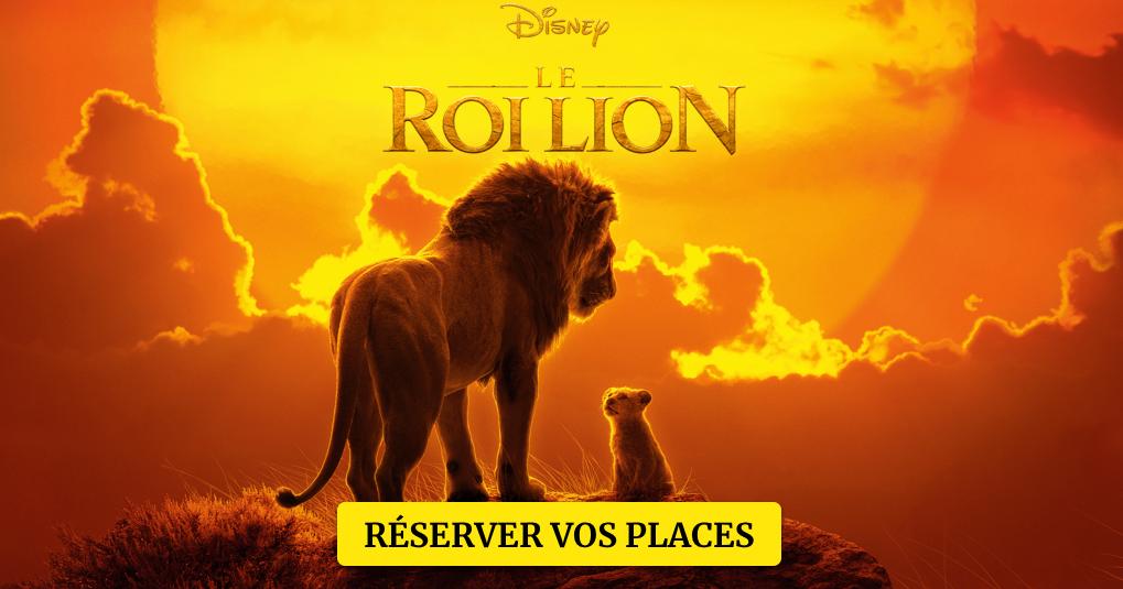 LE ROI LION: Réservez vos places   Disney