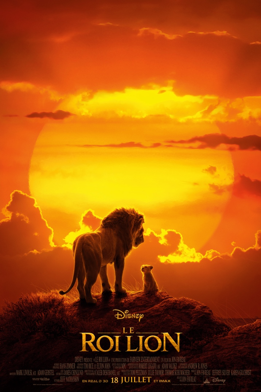 Poster for LE ROI LION