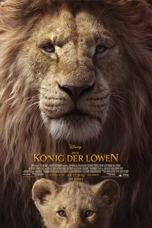Der König der Löwen Filmplakat