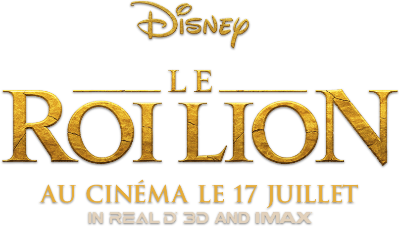 Le Roi Lion title treatment