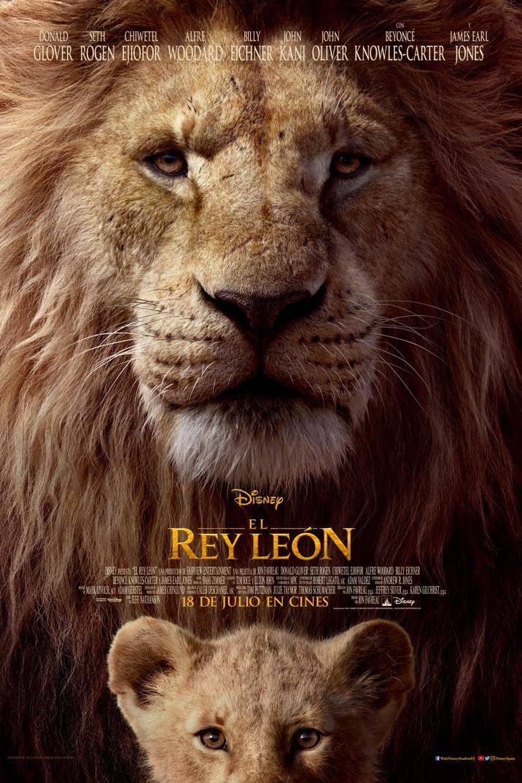 Poster for El Rey León