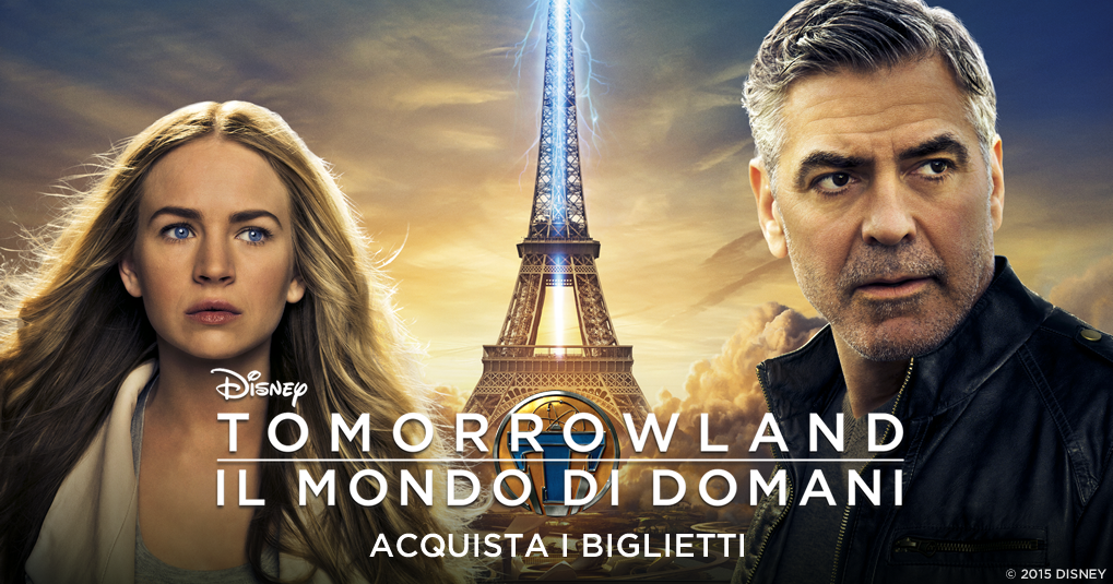 Tomorrowland il mondo di domani sito ufficiale del film for Mondo selvaggio di cabine disney