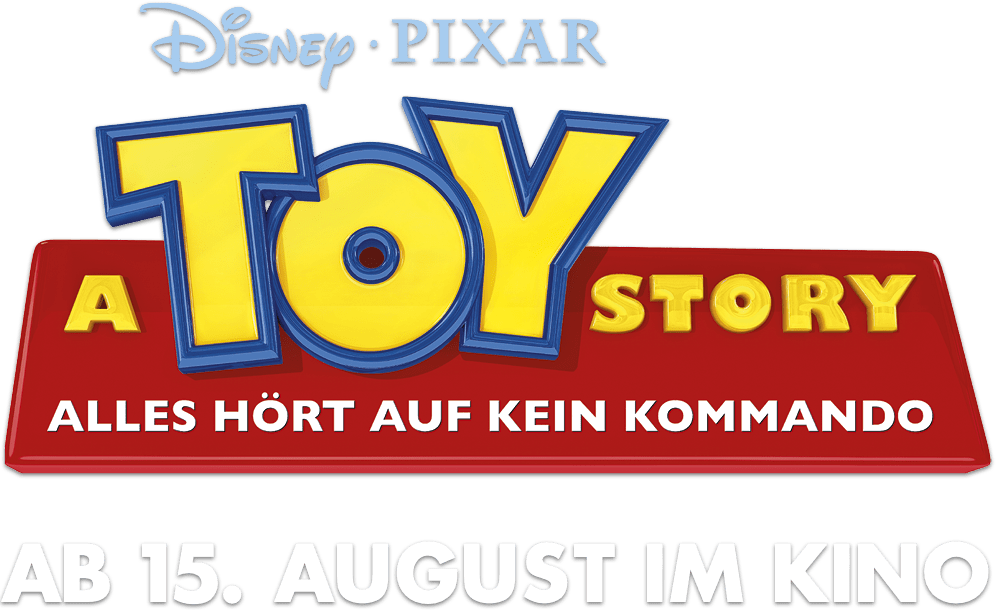 Toy Story 4 title treatment