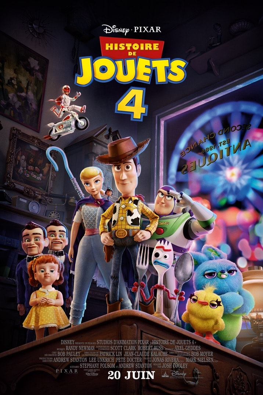 Poster for HISTOIRE DE JOUETS 4
