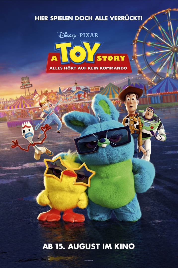 Poster for A Toy Story: Alles hört auf kein Kommando