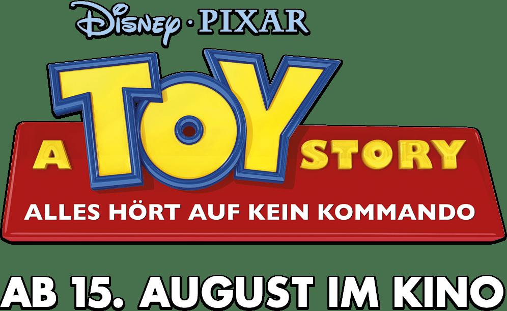 A Toy Story: Alles hört auf kein Kommando title treatment