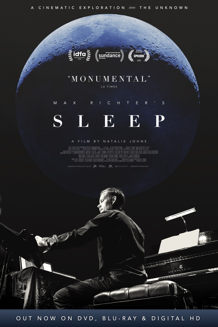 Poster image for Max Richter's Sleep