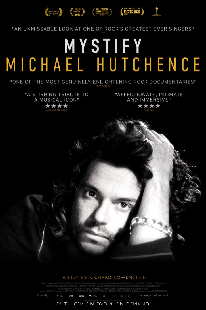 Poster image for Mystify: Michael Hutchence