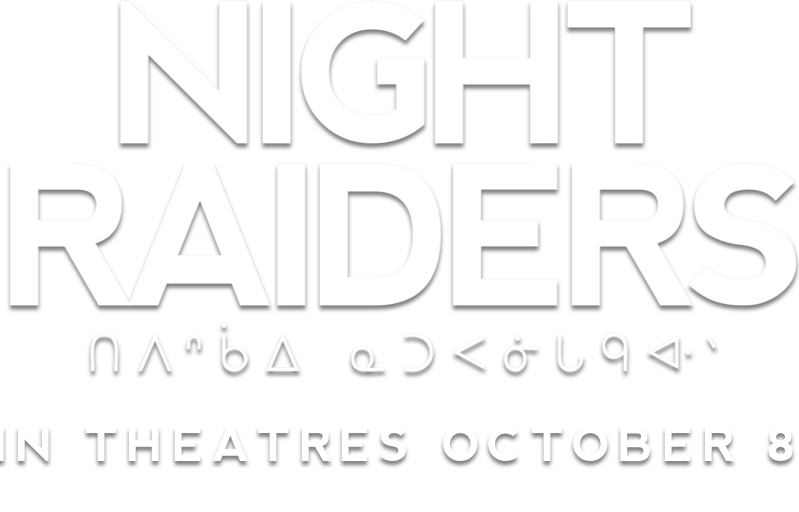 Title or logo for Night Raiders