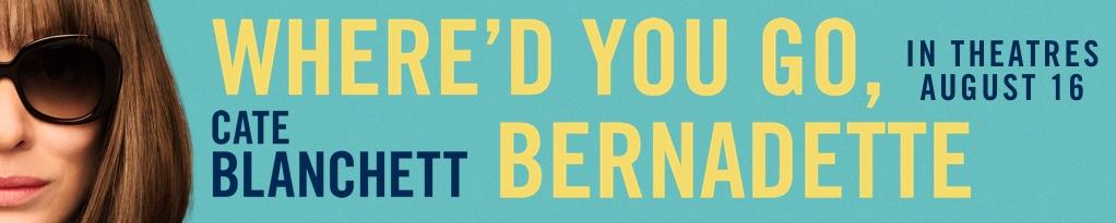 Poster for Where'd You Go, Bernadette