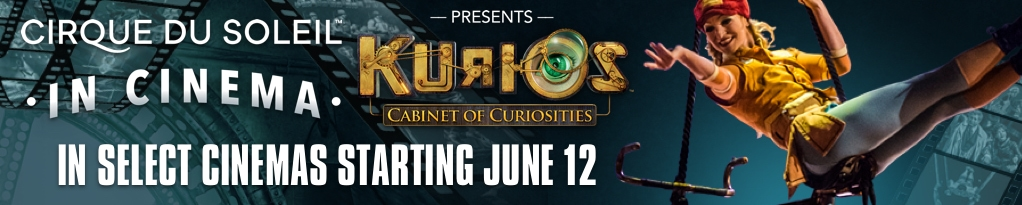 Poster for Cirque du Soleil in Cinema Presents KURIOS – Cabinet of Curiosities