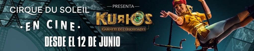 Poster for Cirque du Soleil en Cines Presenta KURIOS – Gabinete de Curiosidades