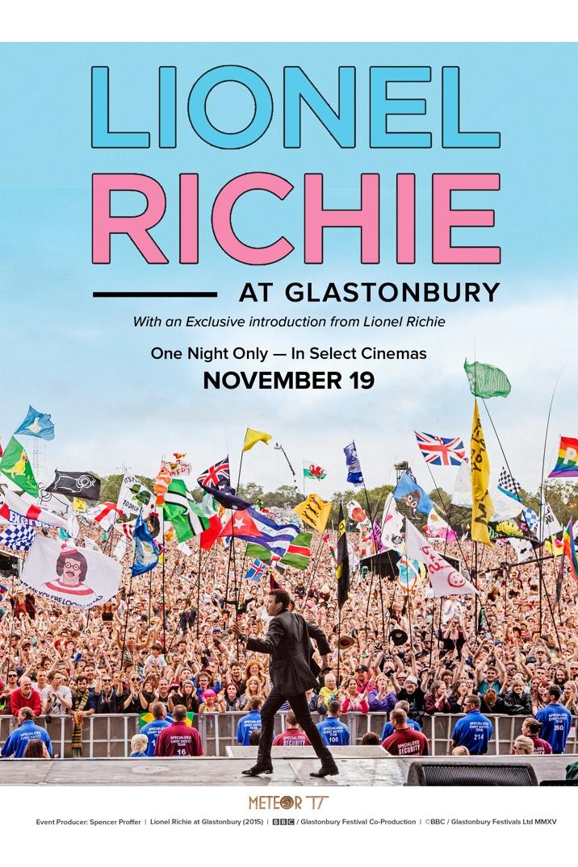 Poster image for Lionel Richie at Glastonbury