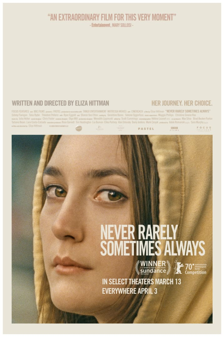 Poster image for Never Rarely Sometimes Always