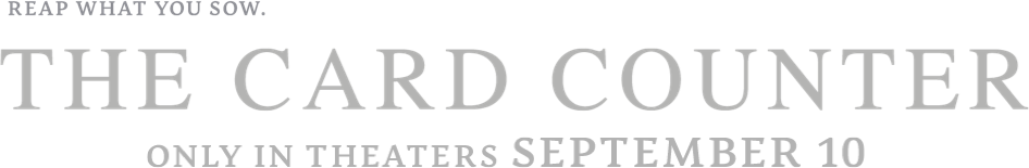 Title or logo for The Card Counter