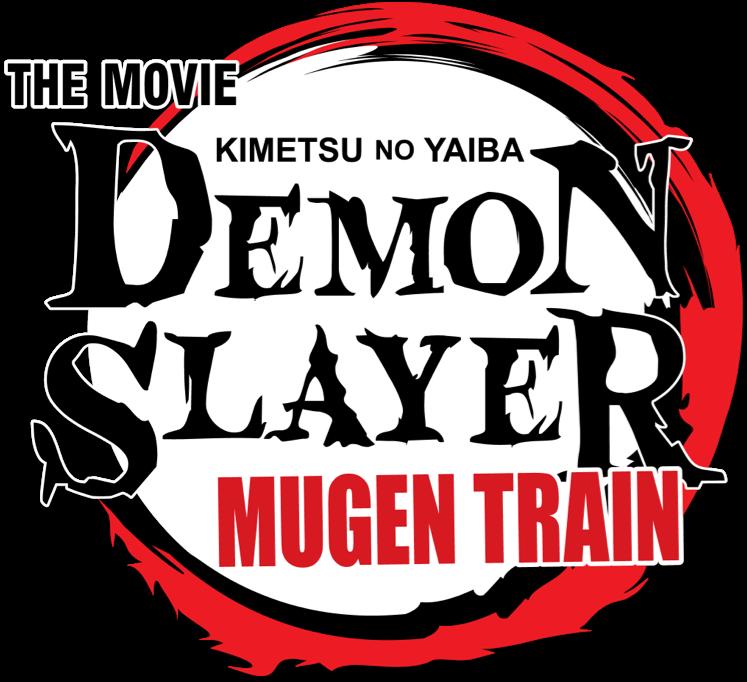 Title or logo for Demon Slayer: Mugen Train