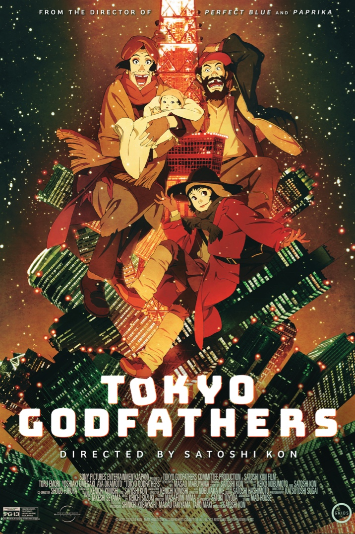 Poster image for Tokyo Godfathers